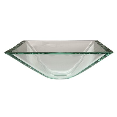 Glass Vessel Bathroom Sink - ECV1616VCC
