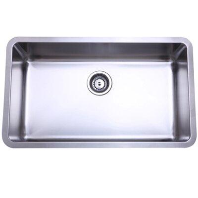 Elements Of Design X X 10 Undermount Single Bowl Kitchen Sink Reviews Wayfair