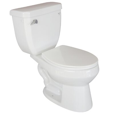 Elements of Design Ecokleen Close Coupled Elongated 2 Piece Toilet
