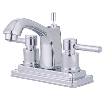Concord Double Handle Deck Mount Bathroom Faucet - KS864