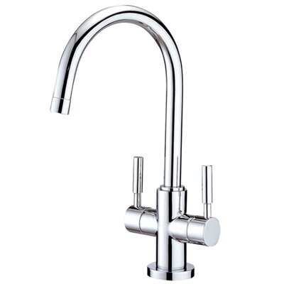 South Beach Double Handle Vessel Sink Faucet without Pop-Up and Plate - ES8291DL / ES8298DL ...