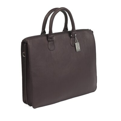 Claire Chase Sarita Leather Laptop Briefcase