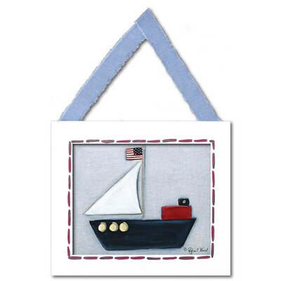 Sailboat Framed Giclee