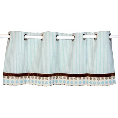 Doodlefish Bubbles Grommet Tailored Curtain Valance