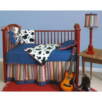 Western Toddler Coverlet and Pillow