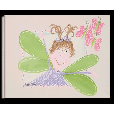 Doodlefish Fairy Alexa Stretched Giclee Canvas - Brunette