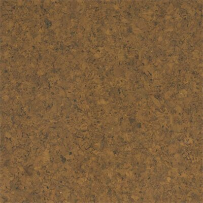 "APC Cork Floor Tiles 12"" Solid Cork Flooring in Terracotta"