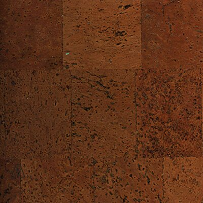 "APC Cork Colors 12"" Engineered Cork Flooring in Aphrodite Brown"