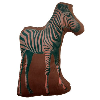 Large Organic Cotton Zebra Cushion