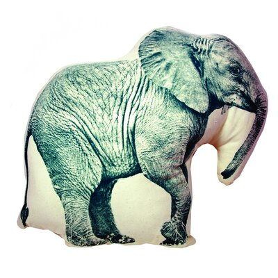 Fauna Mini Organic Cotton Elephant Cushion