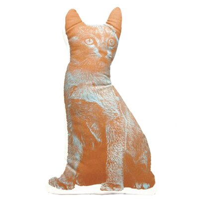 Organic Cotton Cat Cushion