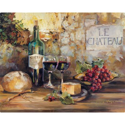 "Magic Slice 12"" x 15"" Le Chateau Design Cutting Board"