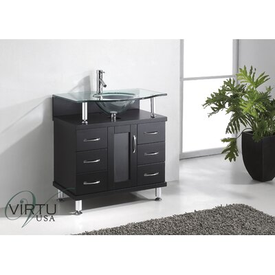 "Virtu Vincente 32"" Bathroom Vanity Set"