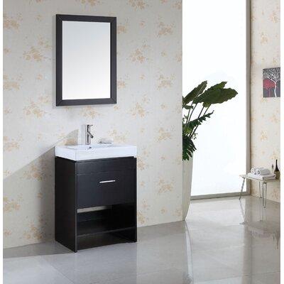 """Virtu Gloria 23.6"""" Single Bathroom Vanity Set"""
