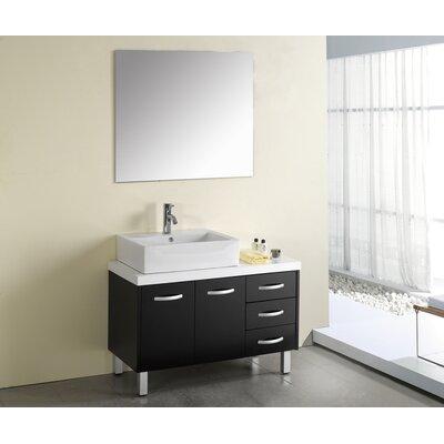"""Virtu Tilda 39.4"""" Single Bathroom Vanity Set"""