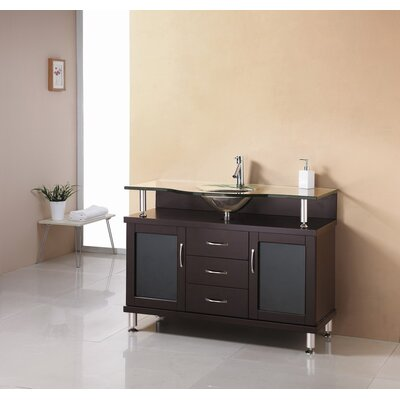 "Virtu Vincente 48"" Bathroom Vanity Set"