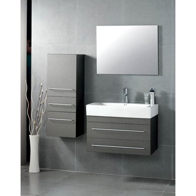 "Virtu Antonio 27"" Contemporary Bathroom Vanity Set"