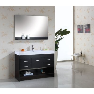 "Virtu Gloria 48"" Single Bathroom Vanity Set"