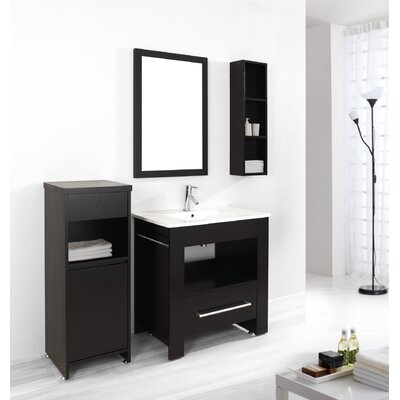 "Virtu Masselin 31.5"" Single Bathroom Vanity Set"
