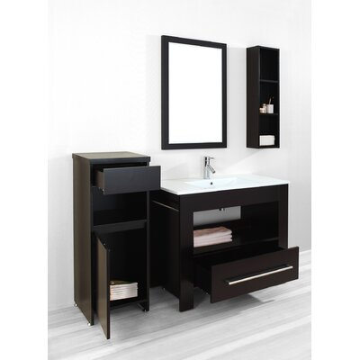 "Virtu Masselin 39.4"" Single Bathroom Vanity Set"