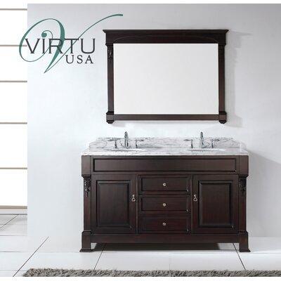 Huntshire 59 Double Bathroom Vanity Set With Mirror Wayfair
