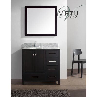 Virtu Caroline Avenue 36 8 Single Sink Bathroom Vanity Set Features