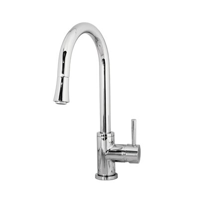 Sedna Single Handle Single Hole Kitchen Faucet with Pull-Down Spray