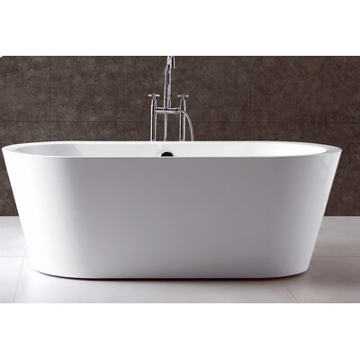 "Virtu Serenity 70"" x 32"" Bathtub"