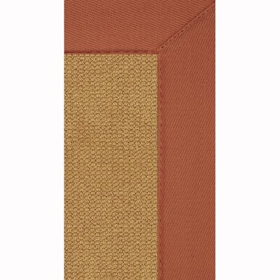Linon Rugs Athena Cork/Burnt Orange Rug