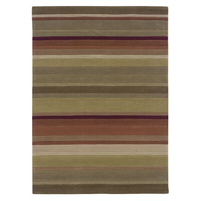 Linon Rugs Trio Green/Rust Rug