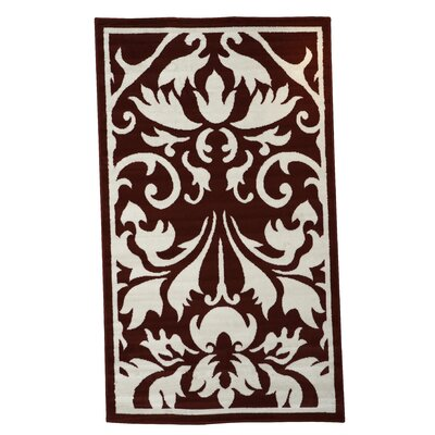 Linon Rugs Capri Red Rug
