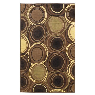 Linon Rugs Metro Brown Rug