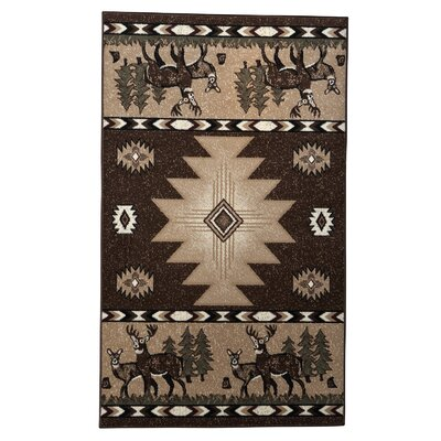 Lodge 01 Wildlife Novelty Rug