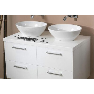 "Iotti by Nameeks Aurora 37"" Bathroom Vanity Top"