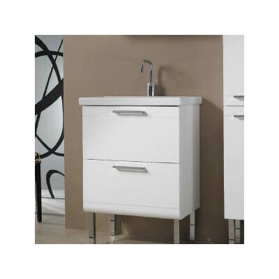"Iotti by Nameeks Luna 24"" Fitted Ceramic Vanity Top"
