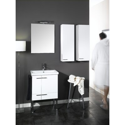 "Iotti by Nameeks Simple NS6 22.5"" Wall Mounted Bathroom Vanity Set"