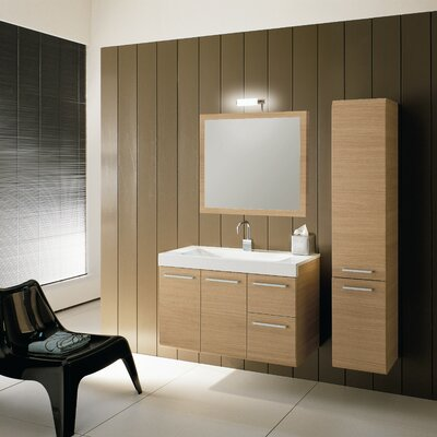 "Iotti by Nameeks Linear LE2 38.3"" Wall Mounted Bathroom Vanity Set"