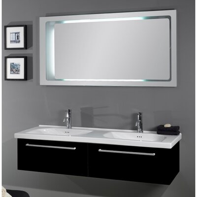 "Iotti by Nameeks Fly 56.5"" Bathroom Vanity Set"