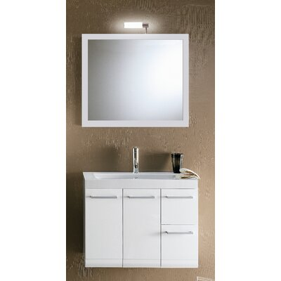 "Iotti by Nameeks Linear 30.4"" Wall Mounted Bathroom Vanity Set"