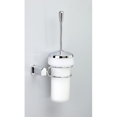 Windisch by Nameeks Bellaterra Toilet Brush Holder in Chrome