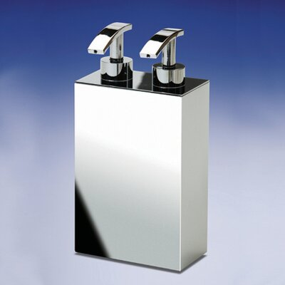 Accessories Free Standing Double Soap Dispenser