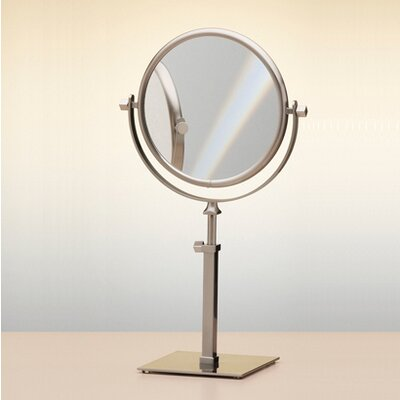 "Windisch by Nameeks 14.9"" Free Standing 7X Magnifying Mirror with Optical Grade Glass"
