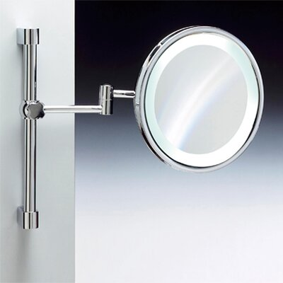 "Windisch by Nameeks 9"" Fluorescent Light Adjustable and Extendable 5X Magnifying Mirror"