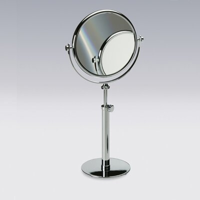 Windisch by nameeks free standing 7x magnifying mirror for Standing glass mirror