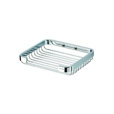 Geesa by Nameeks Basket Large Soap Holder in Chrome