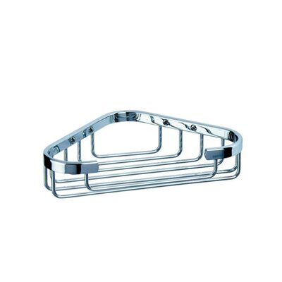 Geesa by Nameeks Basket Corner Sponge Holder in Chrome