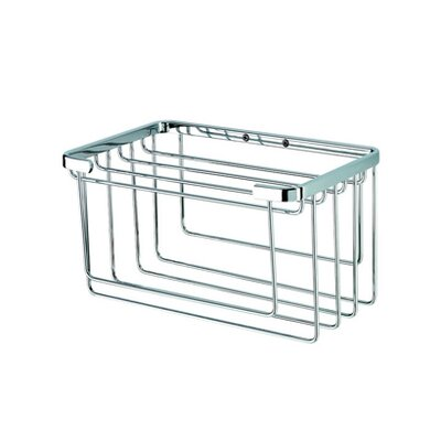 Geesa by Nameeks Basket Towel Basket in Chrome