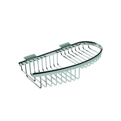 Geesa by Nameeks Basket Compact Soap / Sponge Holder in Chrome