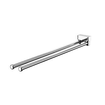 "Geesa by Nameeks BloQ 16.27"" Towel Bar in Chrome"