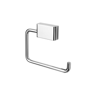Geesa by Nameeks BloQ Toilet Paper Holder in Chrome